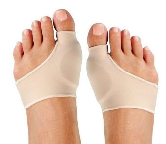 Nude Color Two Size Foot Health Care Bunion Pads Spandex GelCushions - intl
