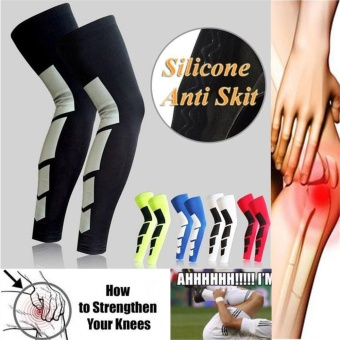 Nvshen 1PCS Over-Knee Tight Sleeve Compression Socks High Support Stockings Leg Unisex - intl