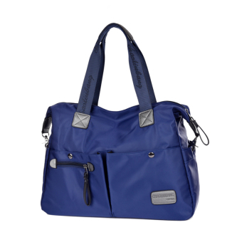 Nylon waterproof Oxford Cloth Bag New style women's bag (Small blue) (Small blue)