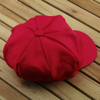 OH Chic Luigi Super Mario Bros Cosplay Adult Size Hat Cap Baseball Costume New Red M
