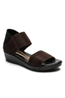 Ohrelle Cecille Wedge (Brown)