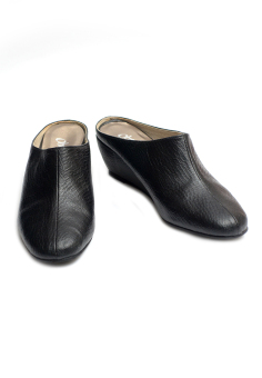 Ohrelle Olive Slip-On Wedge (Black) Price Philippines