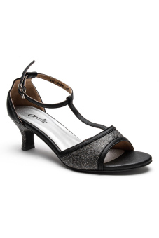 Ohrelle Rhea T-Strap Sandals (Black) Price Philippines