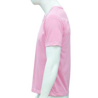 Omni By SO-EN Men's V-Neck T-Shirt (Pink) - 3