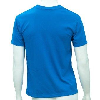 Omni By SO-EN Men's V-Neck T-Shirt (Royal Blue) - 2