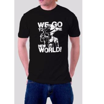 One Piece T-Shirt for Men (Black)