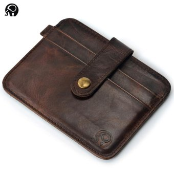 OR 2017 New Ultra Thin Creative Genuine Leather Money Clips - intl