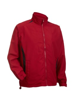 OREN SPORT 100% High density Windbreaker Jacket Longsleeve(Red/Black) - intl