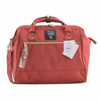 Original Anello Polyester Boston Bag AT-H0852 (Dark Orange)
