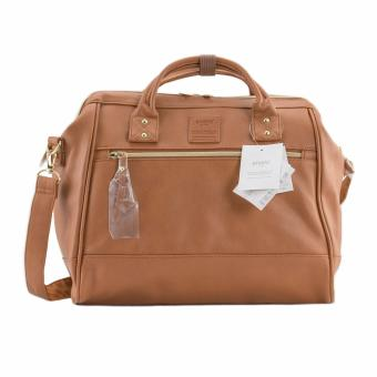 Original Anello PU Leather Boston Bag AT-H1022 (Camel)