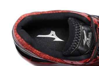 Original Mizuno Men's Wave Prophecy 5 Running Shoe Black/RedFashion Sports Breathable Casual Shoes - intl - 4