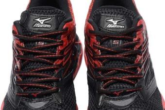 Original Mizuno Men's Wave Prophecy 5 Running Shoe Black/RedFashion Sports Breathable Casual Shoes - intl - 5