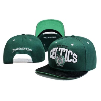 Outdoor Hip Hop NBA Boston Celtics Snapback Cap Adjustable Sport Hat - intl