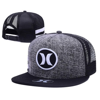 Outdoor Hip Hop Snapback Hurley Cap Adjustable Sport Hat - intl