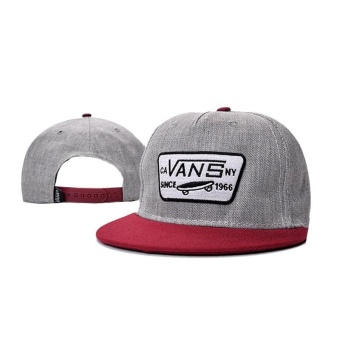 Outdoor Hip Hop VANS Snapback Cap Adjustable Sport Hat - intl