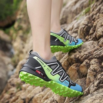 Outdoor Men's Anti-skid Light Soft Hiking Shoes - intl - 5