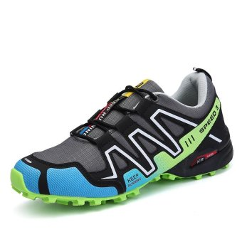 Outdoor Men's Anti-skid Light Soft Hiking Shoes - intl