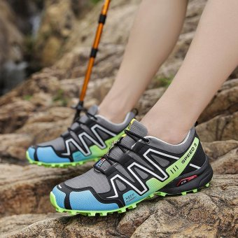 Outdoor Men's Anti-skid Light Soft Hiking Shoes - intl - 3