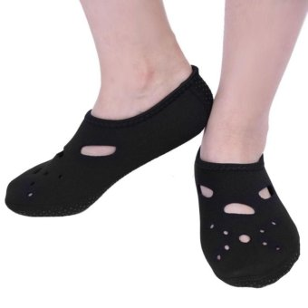 Outdoor Non-Slip Swimming Socks Diving Surfing Beach Sea Water Sport Accessories (Black) - intl
