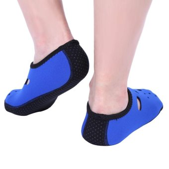 Outdoor Non-Slip Swimming Socks Diving Surfing Beach Sea Water Sport Accessories (Blue) - intl