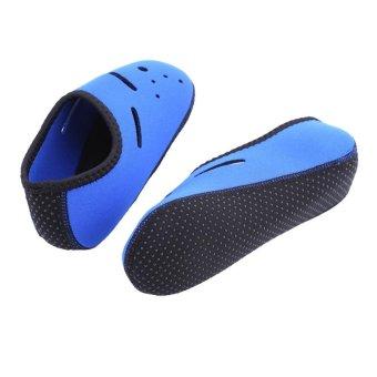 Outdoor Non-Slip Swimming Socks Diving Surfing Beach Sea Water Sport Accessories (Blue) - intl - 3