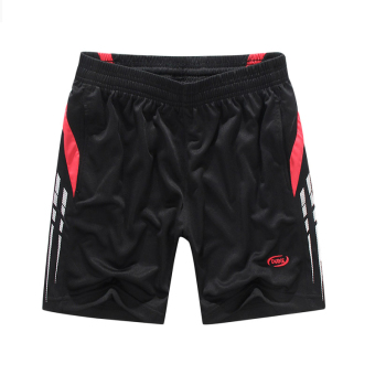 Outdoor Running Badminton Sport Fast Dry Men's Shorts Pants(Red) Price Philippines