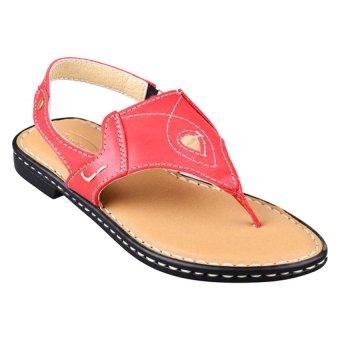 Outland Carrisma Sandals (Red Orange/Light Brown)