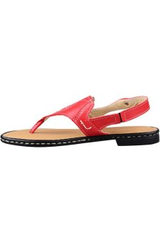 Outland Carrisma Sandals (Red Orange/Light Brown) - picture 2