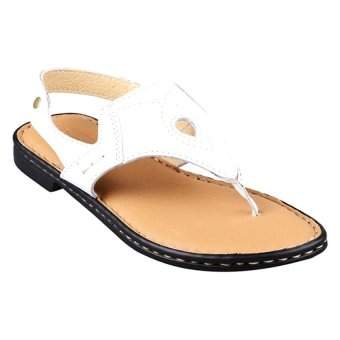 Outland Carrisma Sandals (White/Light Brown)
