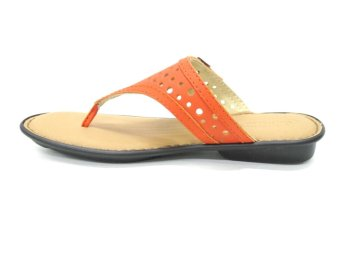 Outland Eleanor Sandals (Orange/Lt Brown)