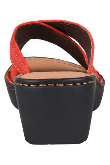 Outland Jessica Sandals (Red Orange/Light Brown) - picture 3