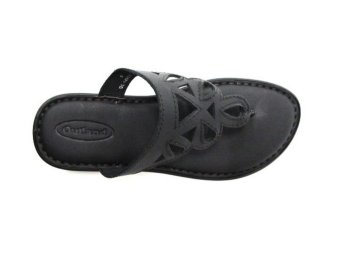 Outland Kiana Slippers (Black SHN/Black) - picture 2