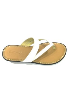 Outland Tatiana Sandals (White/Light Brown) - picture 2