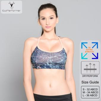 Outperformer Reversible Sports Bra with Dryperform Technology (Deepsea Coral) Price Philippines
