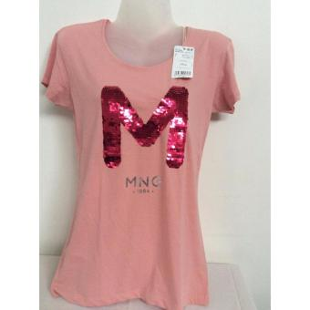 OVERRUN Mango Blouse Peach (USA Medium) Price Philippines