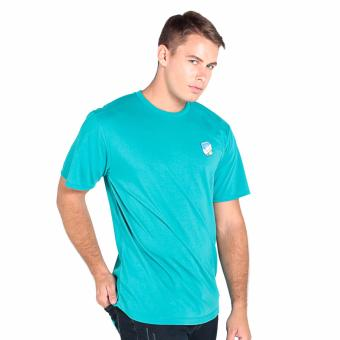 OXYGEN Basic Long Tee with Embroidery (Teal) Price Philippines