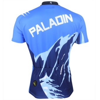 PALADINSPORT Men Cycling Shirt Jersey (Blue) - Intl - picture 2