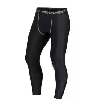 PAlight Men Compression Pants Gym Fitness Sports Running Leggings Tights Quick-drying Fit Training Jogging Pants - intl