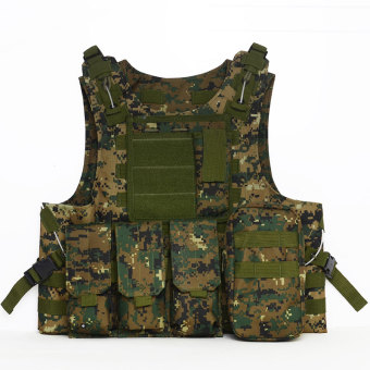 PAlight Outdoor Camouflage Tactical Armor Vest (Color 5) Price Philippines
