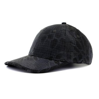 PAlight Outdoor Caps Visor Tactical Camouflage Printed Hat Sun-shading Baseball Cap - intl
