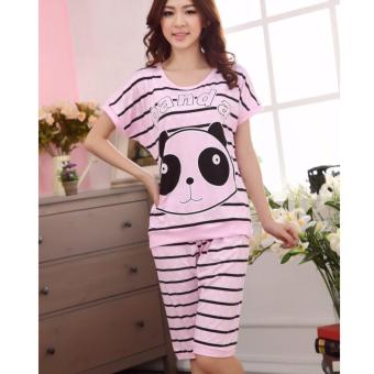 Panda Pajama Set Korean PJ Set Sleepwear Price Philippines