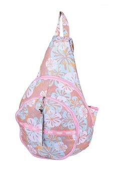 Parachute Hibiscus Empanada Backpack (Beige)