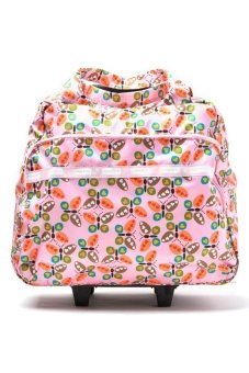 Parachute Rolling Duffle (Pink Butterflies) Price Philippines
