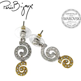 Paris Bijoux E011542A Earrings (Two Tone) - picture 2