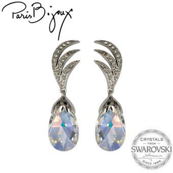 Paris Bijoux E111647A Earrings (Silver)