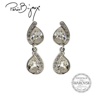 Paris Bijoux E111769A Earrings (Silver)