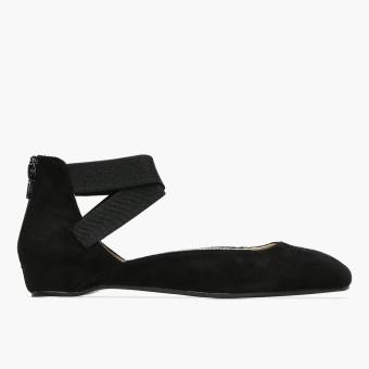 Parisian Ladies Samm Ballet Flats (Black)