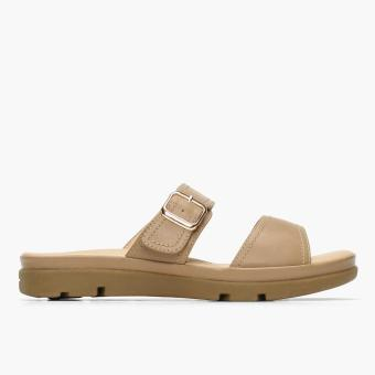 Parisian Ladies Taki Flat Sandals (Cream)