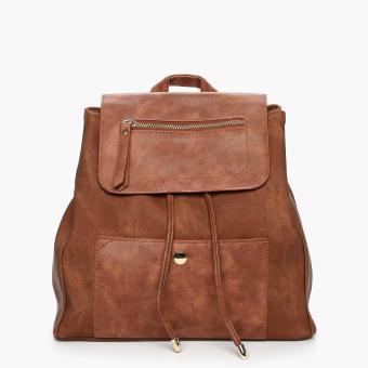 Parisian Ladies Tennie Backpack (Tan)