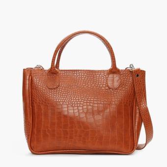 Parisian Ladies Uela Hand Bag (Tan)